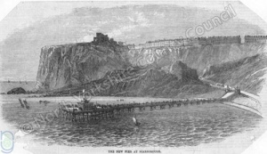 Scarborough: North Promenade Pier 1869